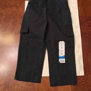 NWT-Toddler Boys Jumping Beans Cargo Pants